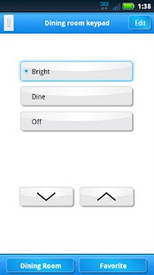 Lutron Home Control+- screenshot thumbnail