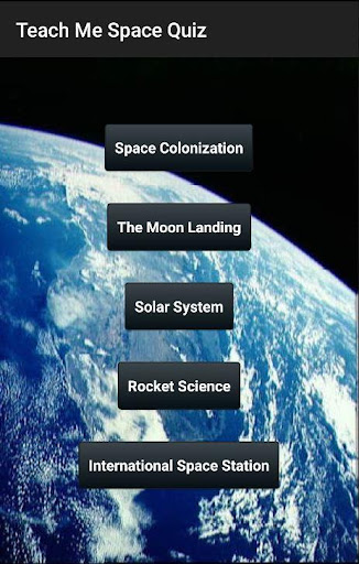 Learn Space Quiz