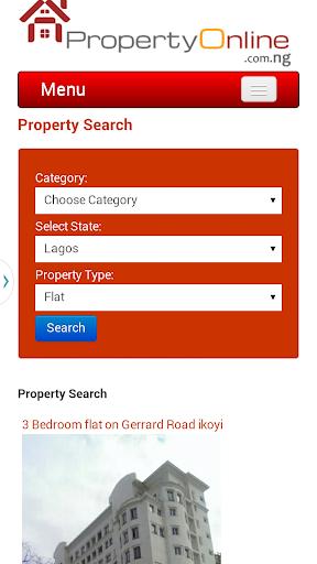 【免費商業App】Property Online Nigeria-APP點子