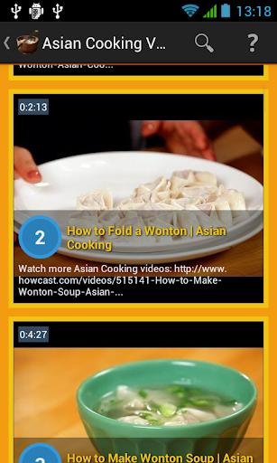 【免費生活App】Asian Cooking Video-APP點子