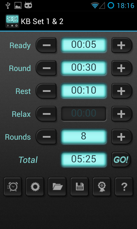 HIIT Interval Training Timer - screenshot