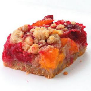 Cranberry-Orange Fruit Bars