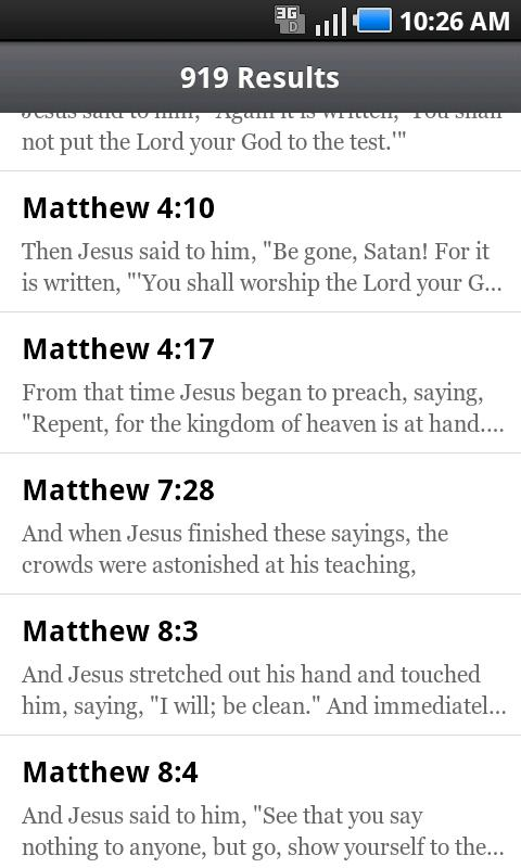 ESV Bible - screenshot