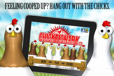 Chicktionary - screenshot