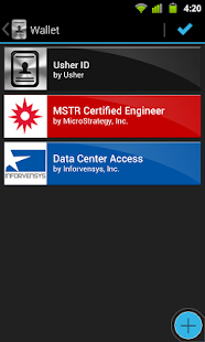 Usher by MicroStrategy - screenshot thumbnail