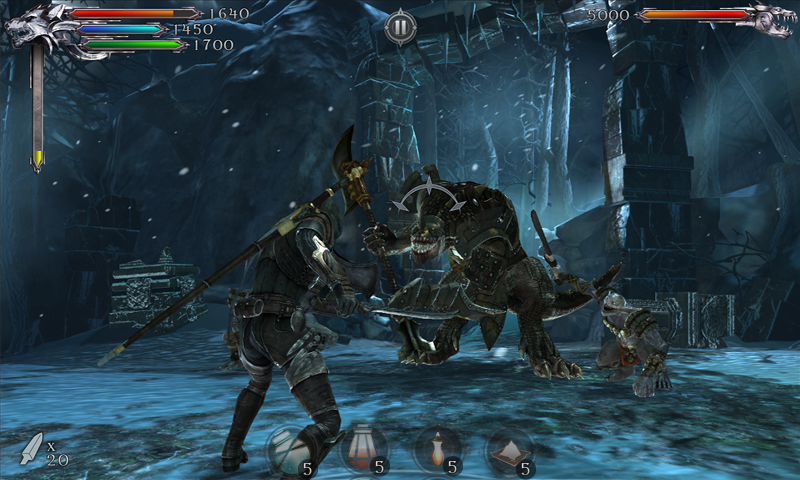 Joe Dever's Lone Wolf - screenshot