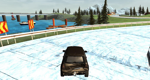Extreme Ice Driving Simulator