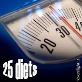 Twenty-Five Diets