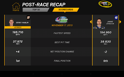 NASCAR RACEVIEW MOBILE Screenshot 28