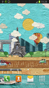 Paper Paris Live Wallpaper - screenshot thumbnail