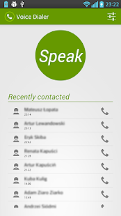 Voice Dialer (Voice Dialing) - screenshot thumbnail