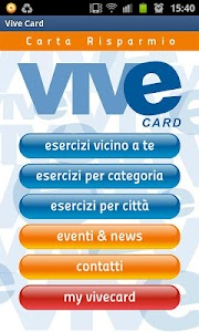 VIVE Card - Carta Risparmio screenshot 1