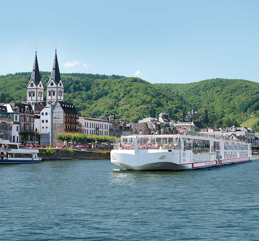 Explore scenic, charming Boppard, Germany, in the Rhine Gorge, a UNESCO World Heritage Site, on a Viking Longship.
