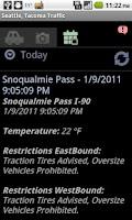 Screenshot of Seattle Tacoma Traffic & Cam