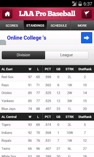 【免費運動App】LAA Pro Baseball-APP點子