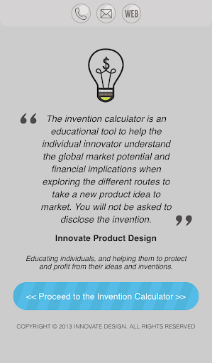 Invention Calculator