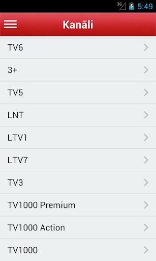 Televīzijas Latvija Free