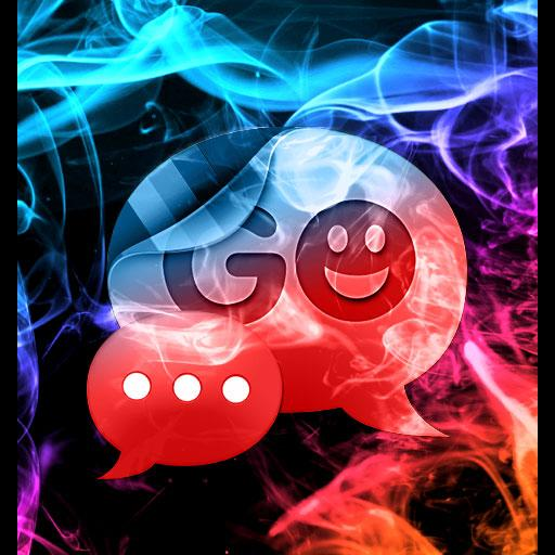 GO SMS Theme Color Smoke Buy LOGO-APP點子
