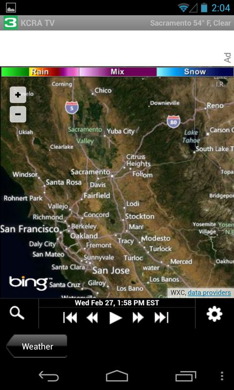KCRA -Sacramento news, weather - screenshot