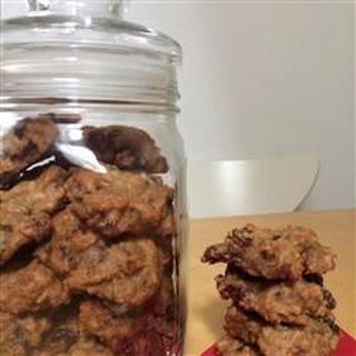 No Sugar Raisin Cookies