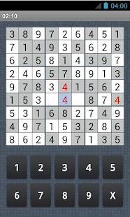 Sudoku (old version) - screenshot thumbnail