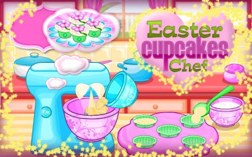 Easter Cupcakes Cooking Games