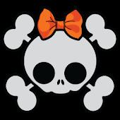 GLX Theme: Cute Haloween Skull