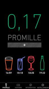 Promillekoll- screenshot thumbnail