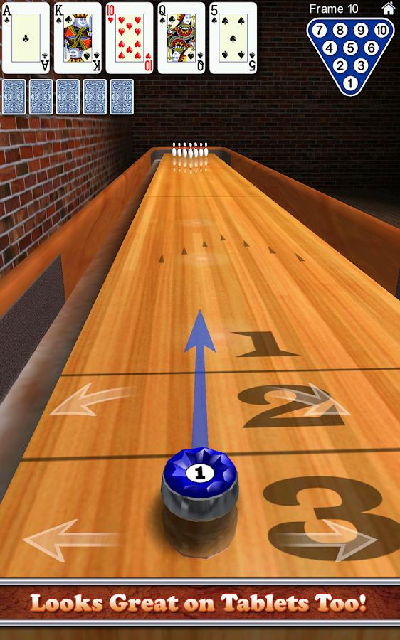 10 Pin Shuffle™ Bowling - screenshot