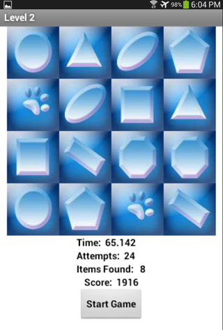 【免費休閒App】Concentrate Flip 2 Memory Game-APP點子