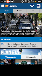 Noticieros Televisa - screenshot thumbnail