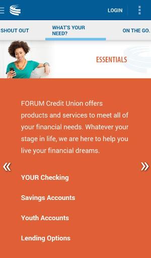FORUM Credit Union CU Online