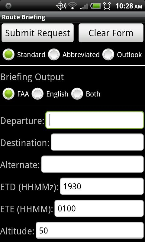 DTC DUAT for Android- screenshot
