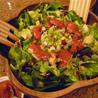 Candied Cashew and Pear Salad