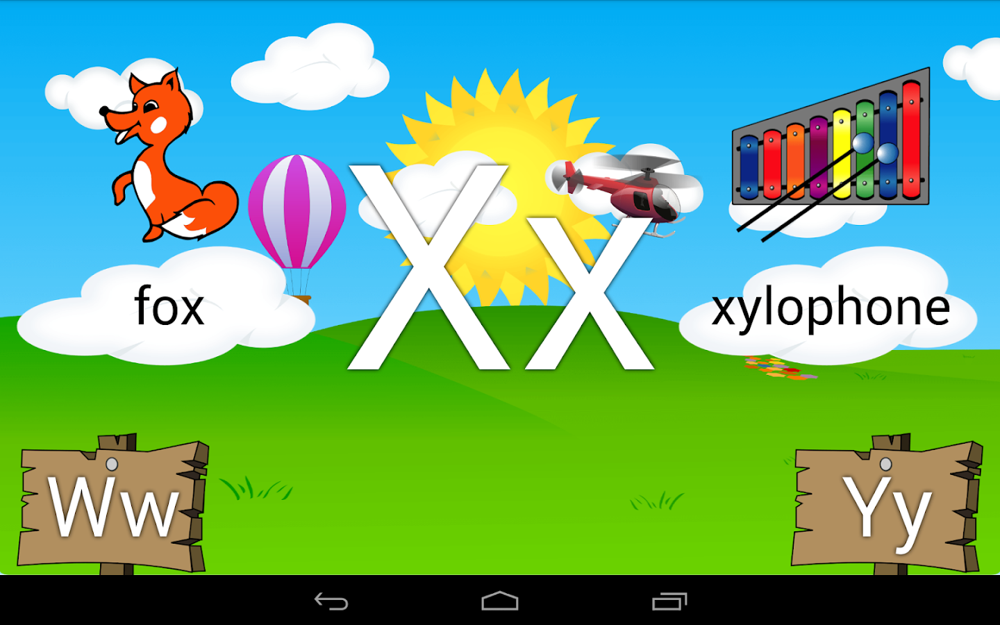 Learn the Alphabet Kids ABCs- screenshot