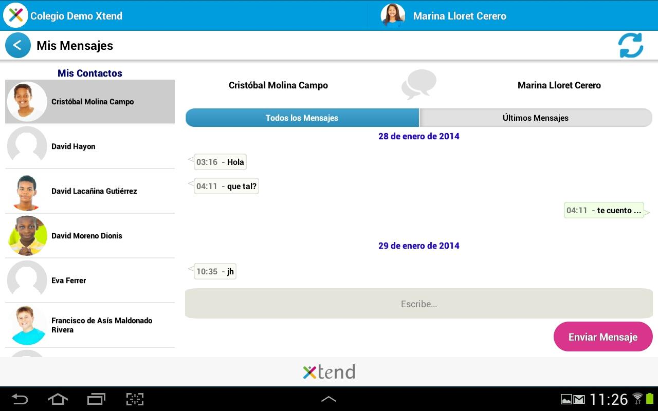 Xtend- screenshot