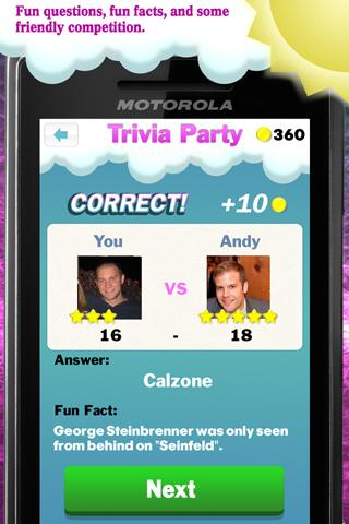 Trivia Party- screenshot