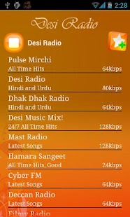 Desi Radio Pro-Ads Free - screenshot thumbnail