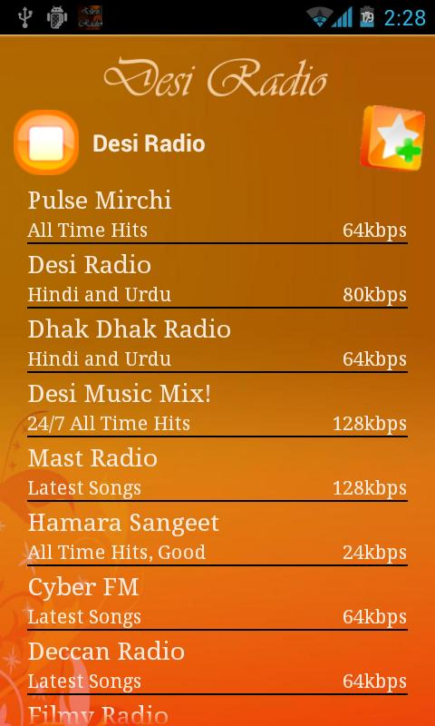 Desi Radio Pro-Ads Free - screenshot