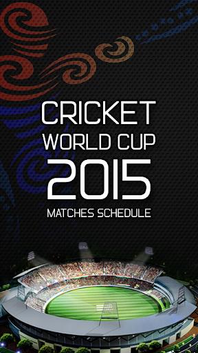 Cricket Worldcup Schedule 2015