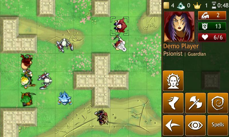 Hero Mages - screenshot