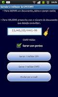 Screenshot of Gerar e Validar CNPJ / CPF