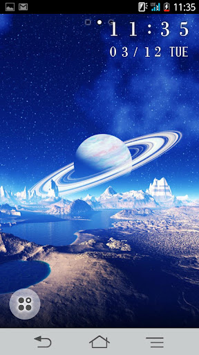 Space Planets Live Wallpaper