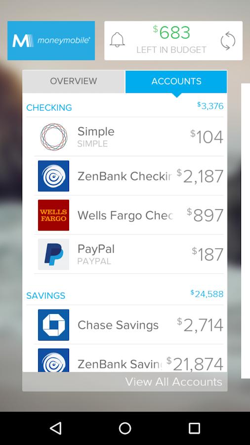 MoneyMobile- screenshot