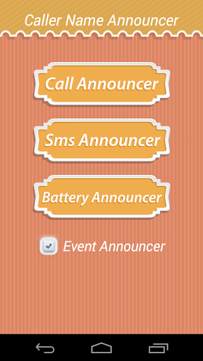 Caller SMS Battery Announcer