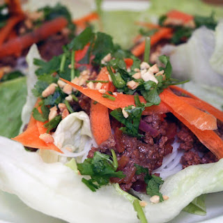 Thai Beef Lettuce Wraps Recipe