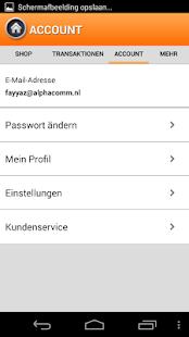 Aufladen - Guthaben App- screenshot thumbnail