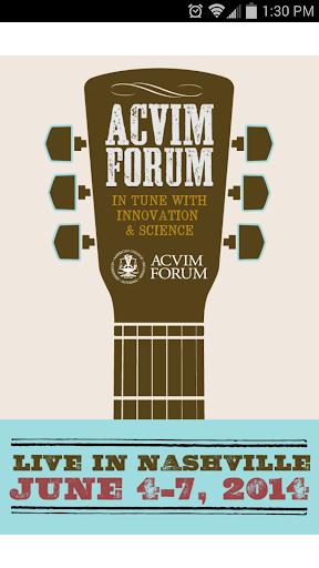 2014 ACVIM Forum