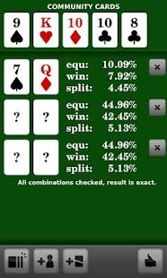 Poker Odds Calculator Pro - screenshot thumbnail