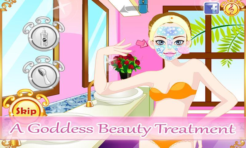 Modern Goddess Makeover Spa- screenshot